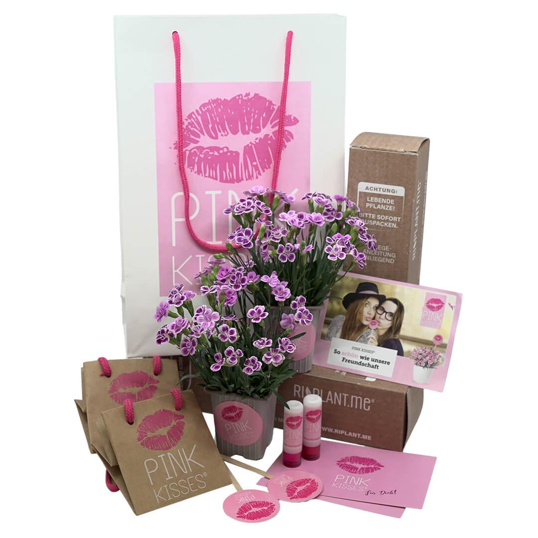 Pink Kisses® Freundschaftsset: So schön wie unsere Freundschaft